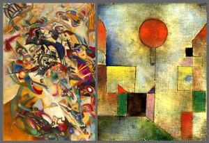 Klee vs. Kandinsky
