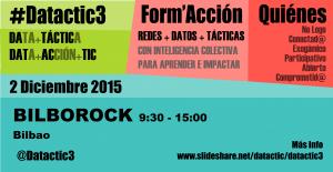 #Datactic3 Bilbao