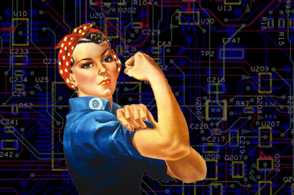 Mujeres tecnólogas