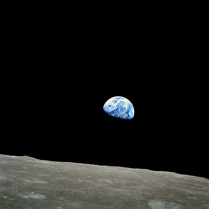 Earthrise. NASA