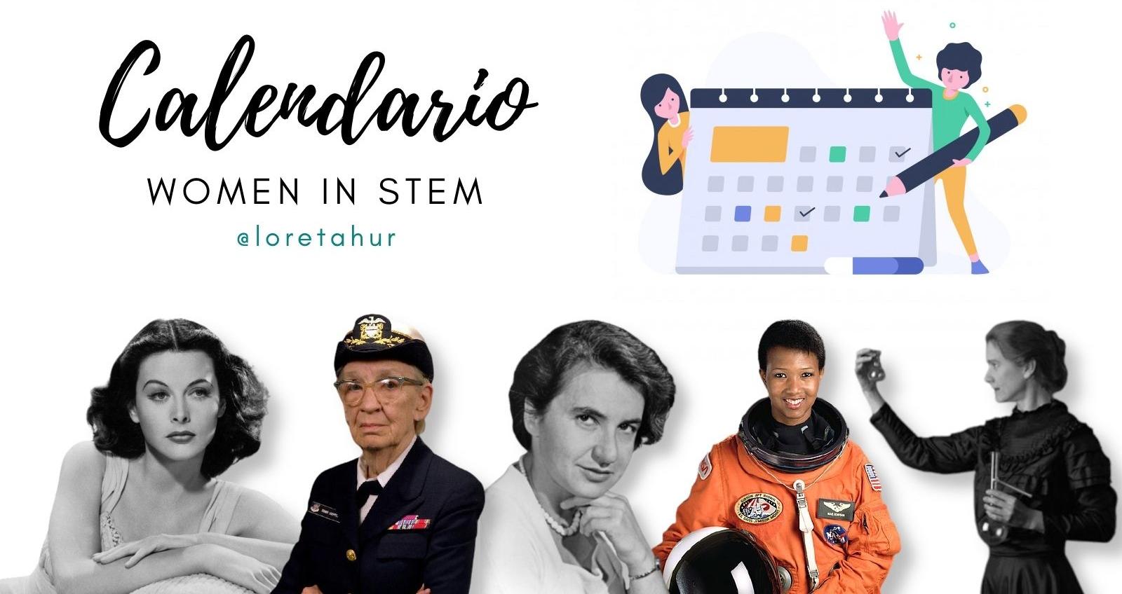 Calendario de las mujeres STEM